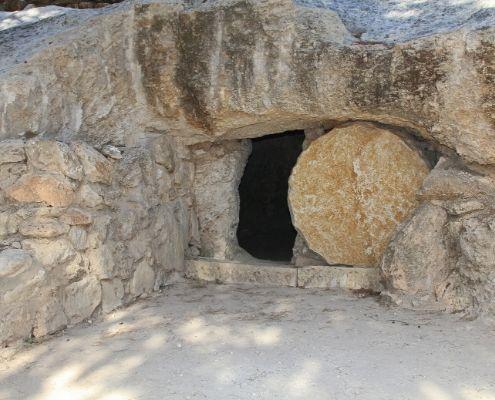 Jesus' grave